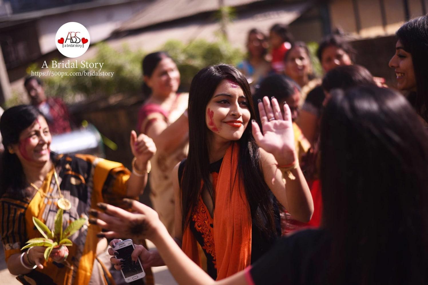 Shot of joy by A Bridal Story Wedding-photography | Weddings Photos & Ideas