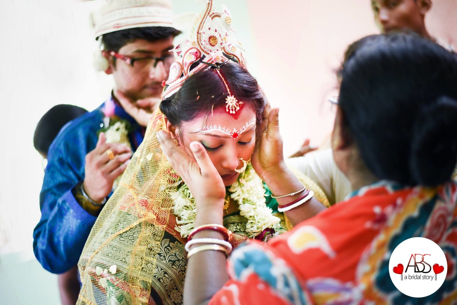 Fetching traditional gape by A Bridal Story Wedding-photography | Weddings Photos & Ideas