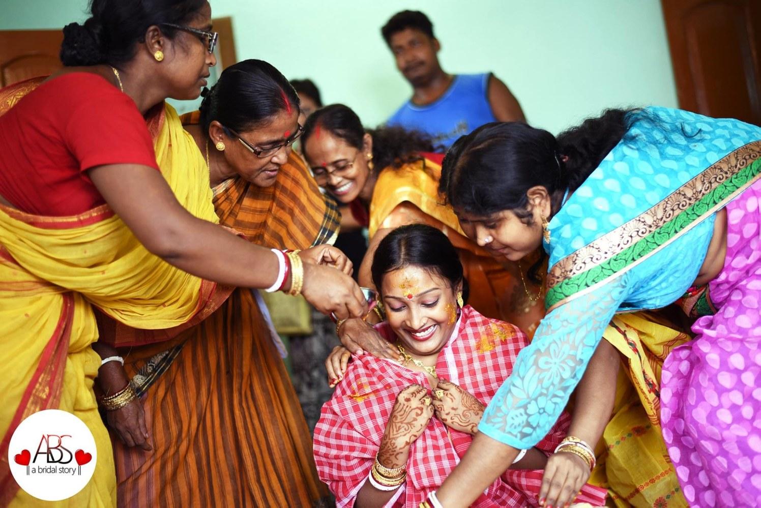 Gleefulness by A Bridal Story Wedding-photography | Weddings Photos & Ideas