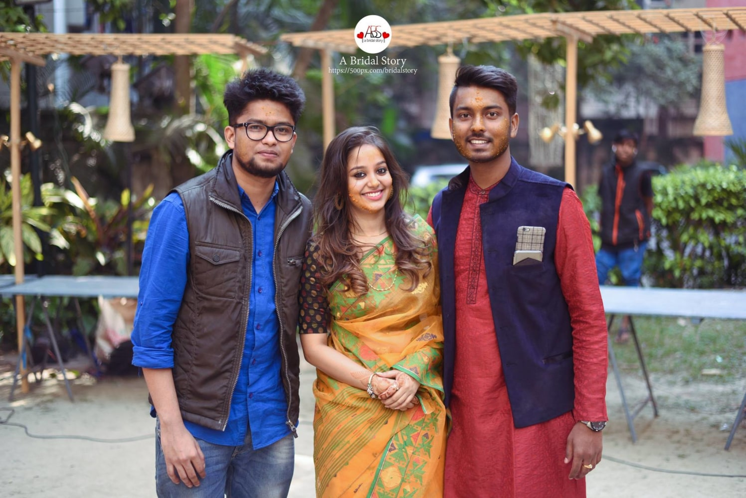 Haldi day is merry for all! by A Bridal Story Wedding-photography | Weddings Photos & Ideas