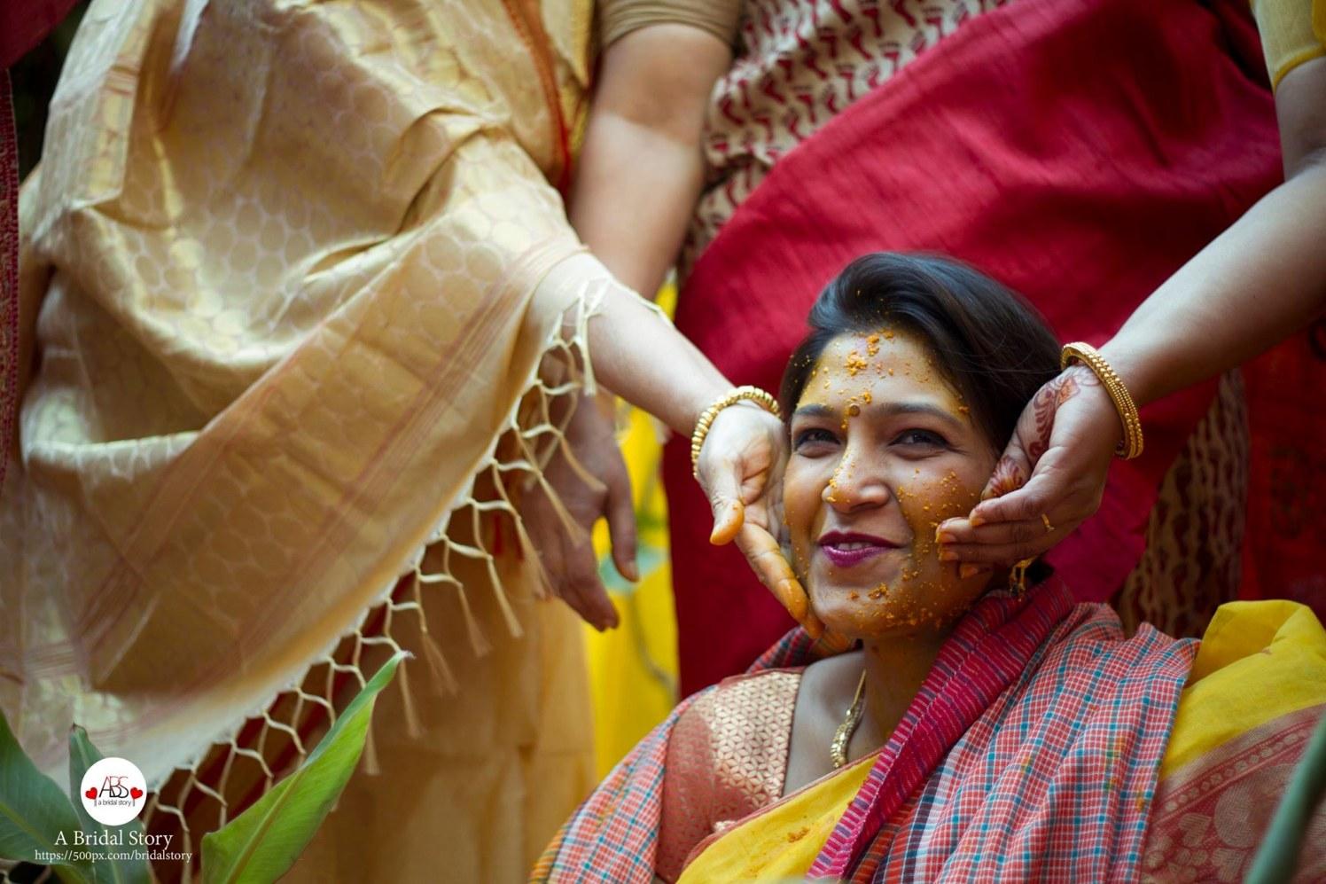 Amusement of haldi by A Bridal Story Wedding-photography | Weddings Photos & Ideas