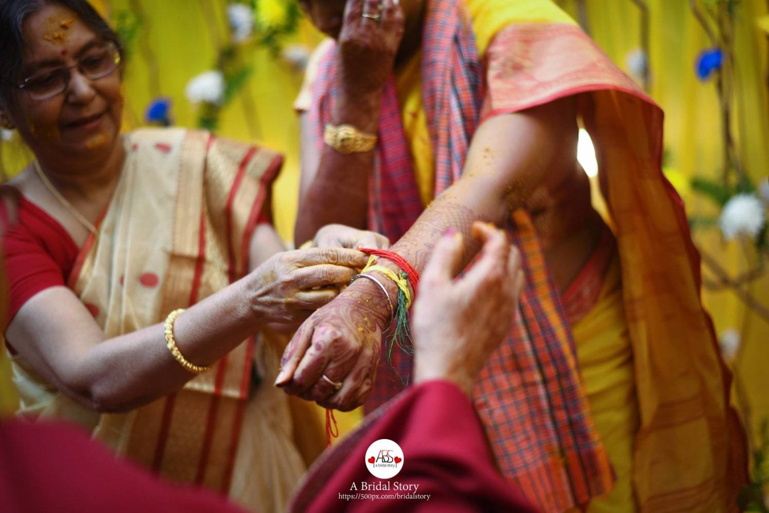 Blissful moment by A Bridal Story Wedding-photography | Weddings Photos & Ideas