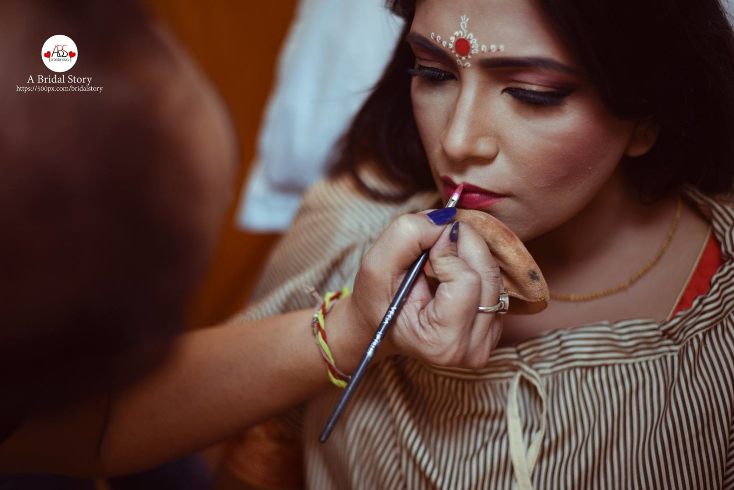 Priming her up! by A Bridal Story Wedding-photography | Weddings Photos & Ideas