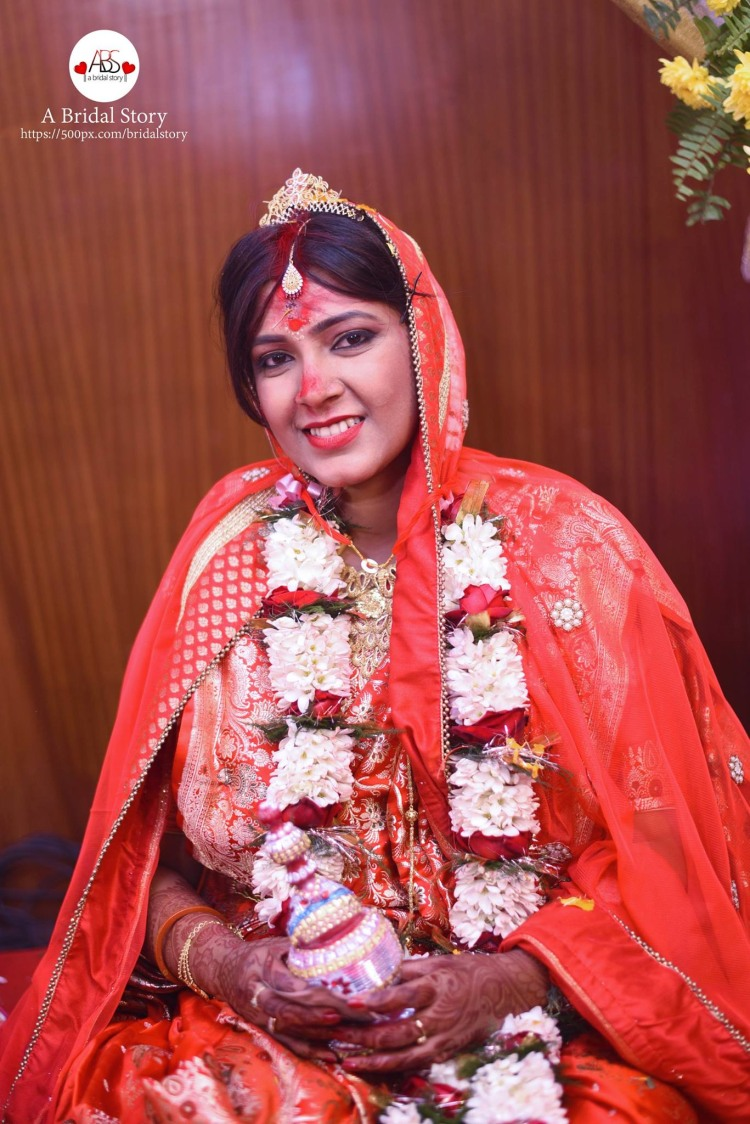 Customary bengali bride by A Bridal Story Wedding-photography | Weddings Photos & Ideas
