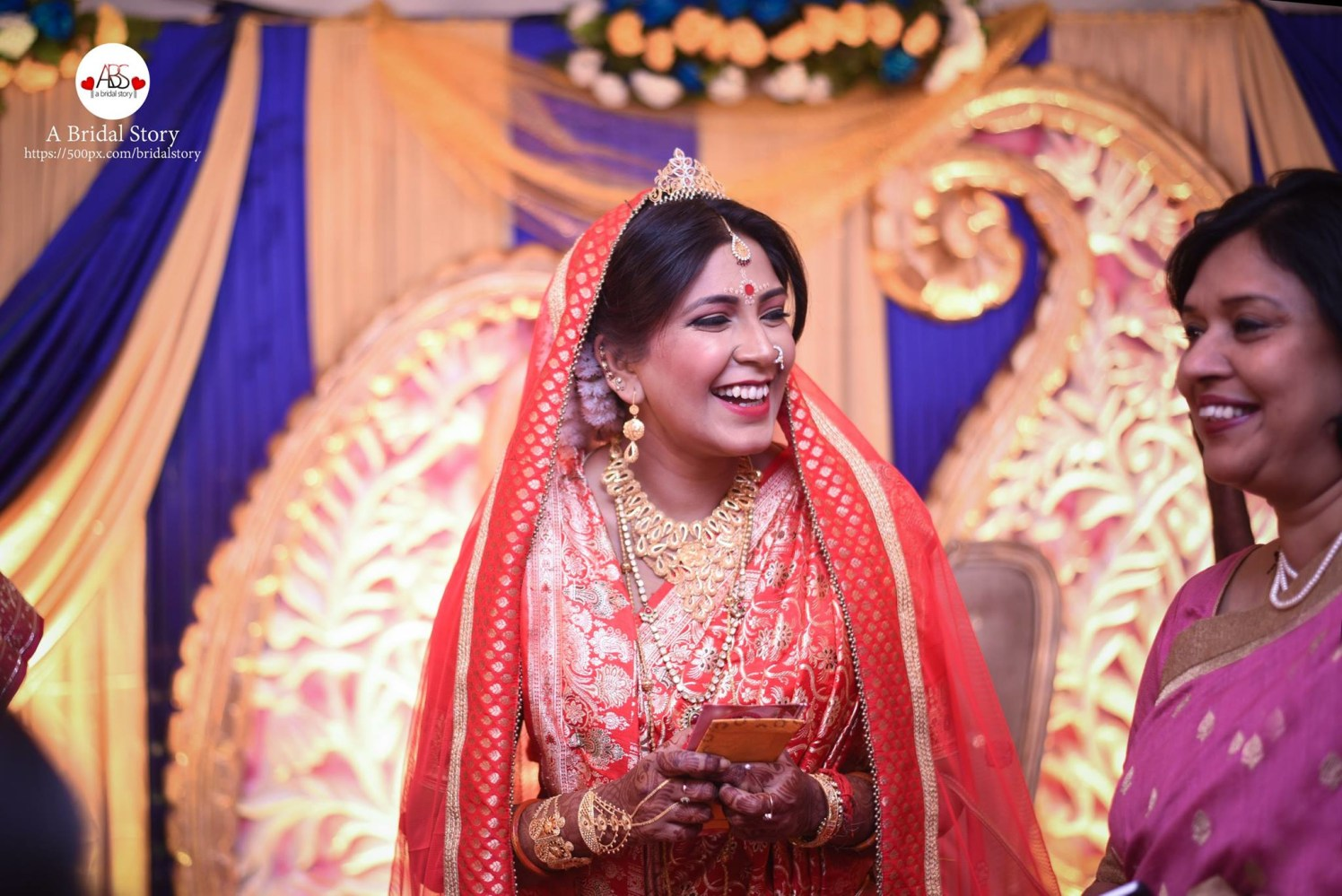 Laughter of contentment by A Bridal Story Wedding-photography | Weddings Photos & Ideas