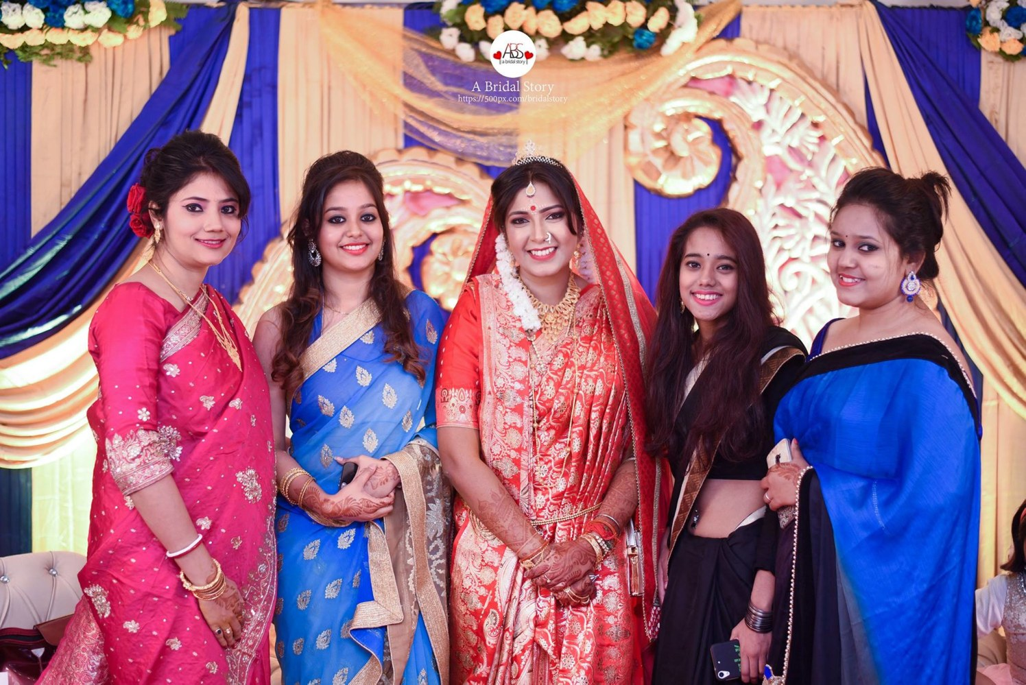 The bridal merry squad by A Bridal Story Wedding-photography | Weddings Photos & Ideas
