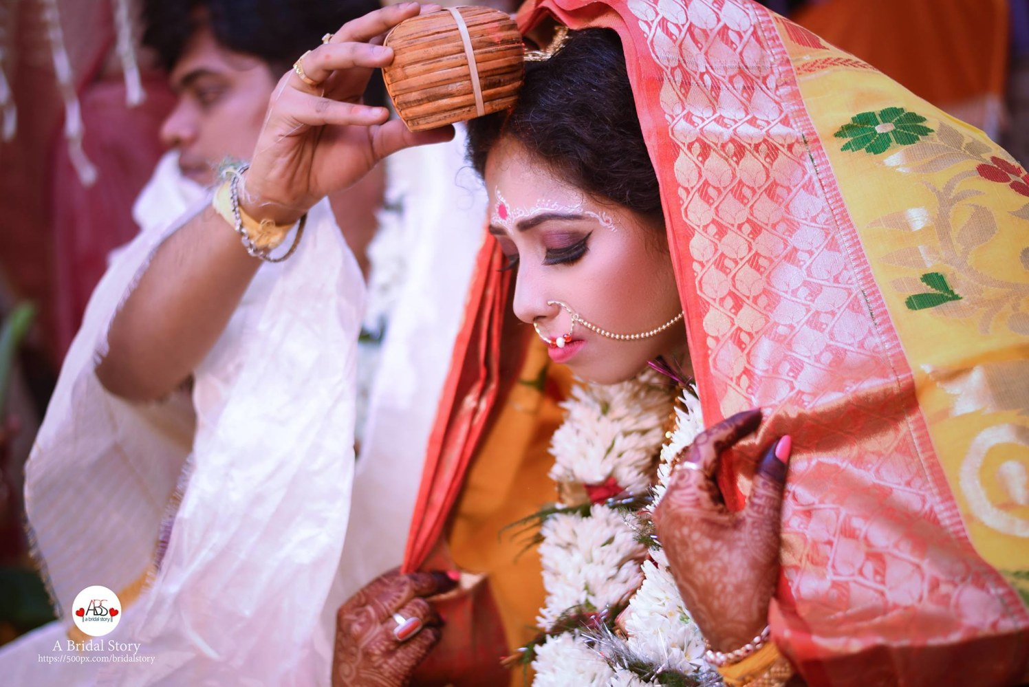 Salubrious gesture by A Bridal Story Wedding-photography | Weddings Photos & Ideas