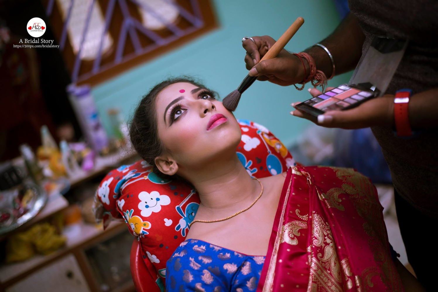 Bridal adornment by A Bridal Story Wedding-photography | Weddings Photos & Ideas