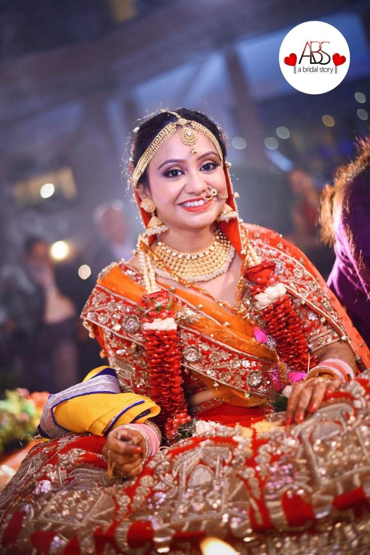 Blandish glimpse of bride! by A Bridal Story Wedding-photography | Weddings Photos & Ideas
