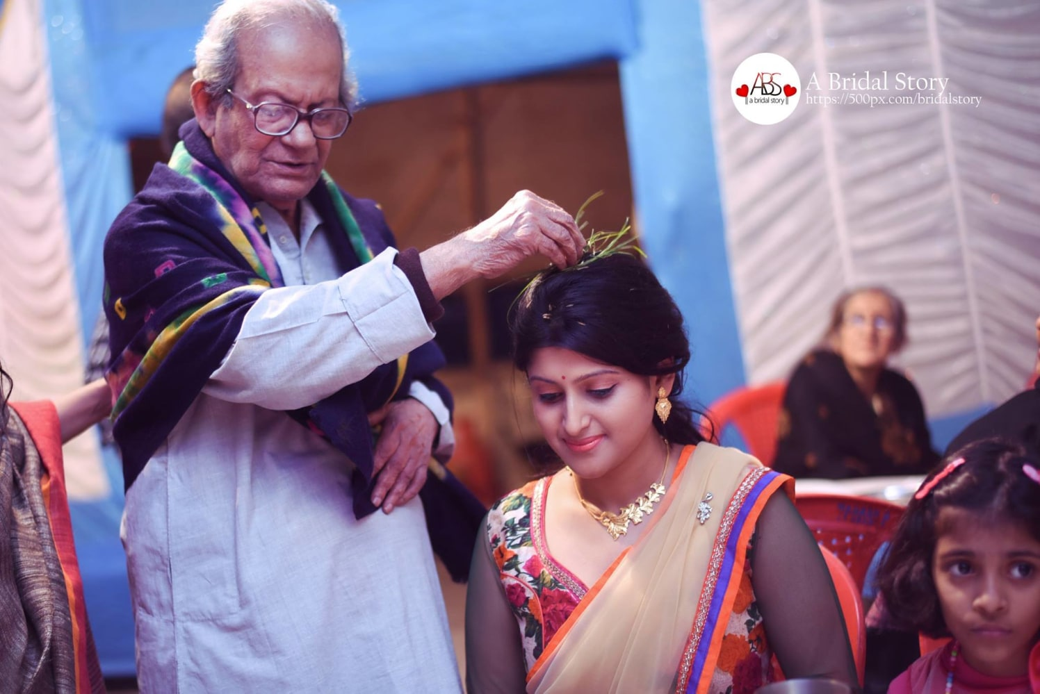 Conventionally blessing her! by A Bridal Story Wedding-photography | Weddings Photos & Ideas