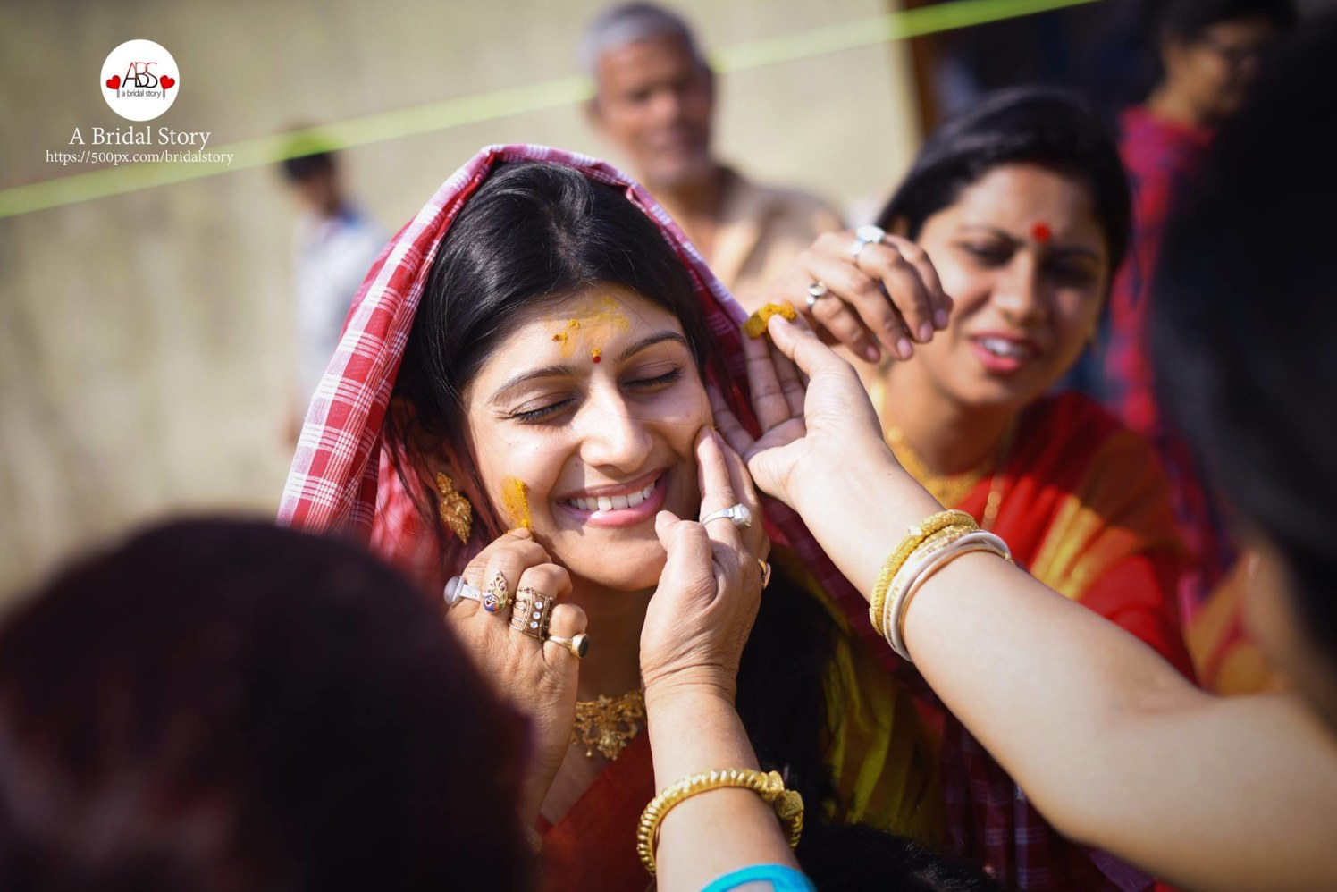 Happiness on haldi day! by A Bridal Story Wedding-photography | Weddings Photos & Ideas