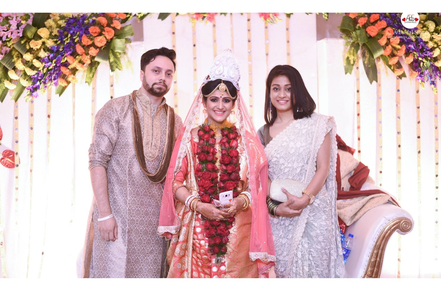 Dazzling smiles by A Bridal Story Wedding-photography | Weddings Photos & Ideas