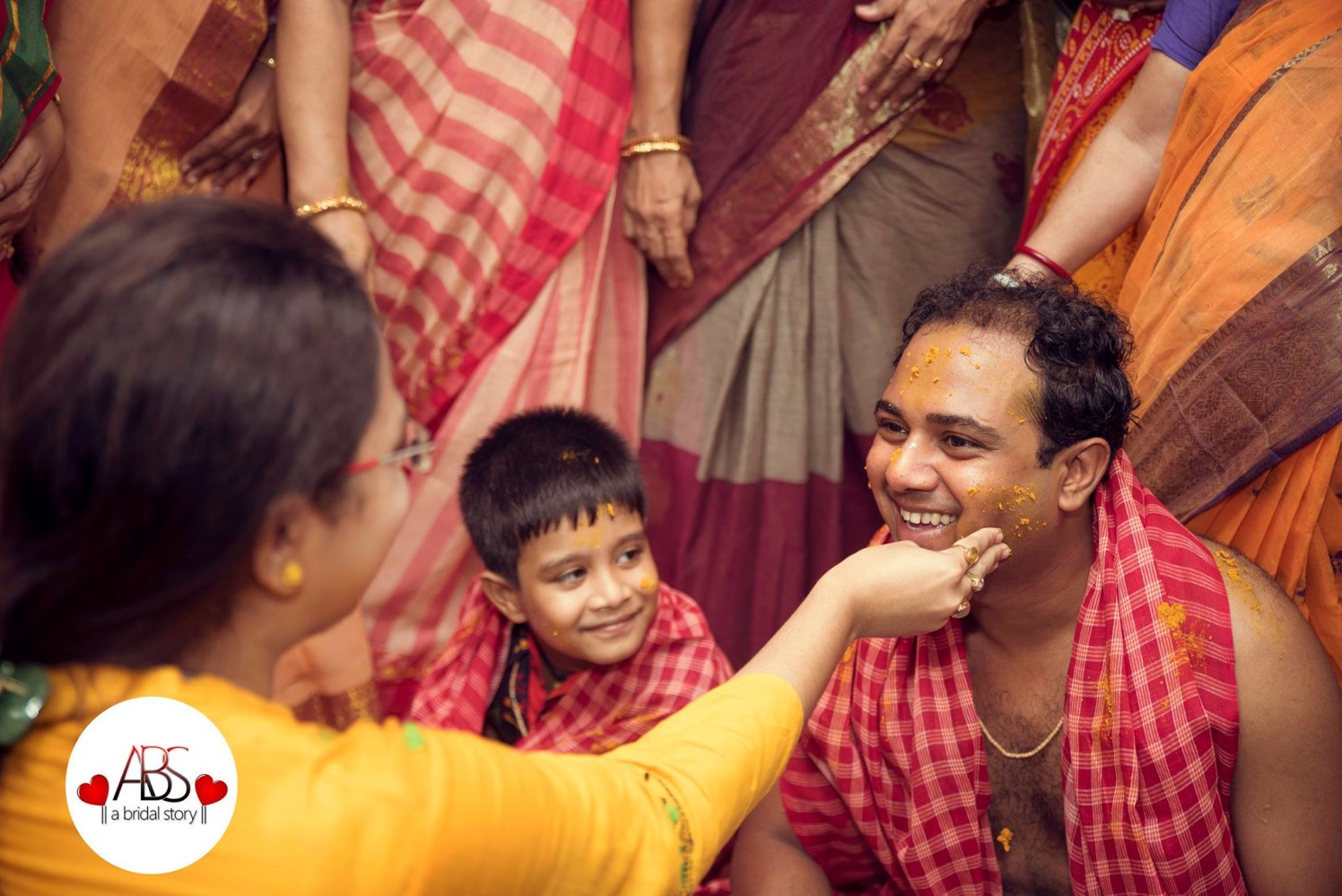 Merriment of haldi by A Bridal Story Wedding-photography | Weddings Photos & Ideas