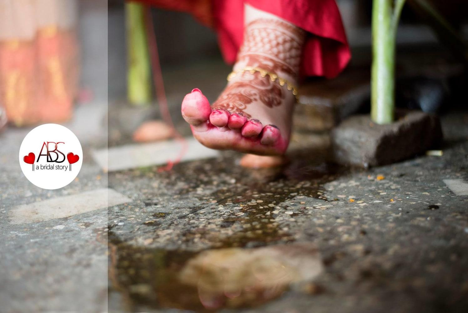 Customary steps by A Bridal Story Wedding-photography | Weddings Photos & Ideas