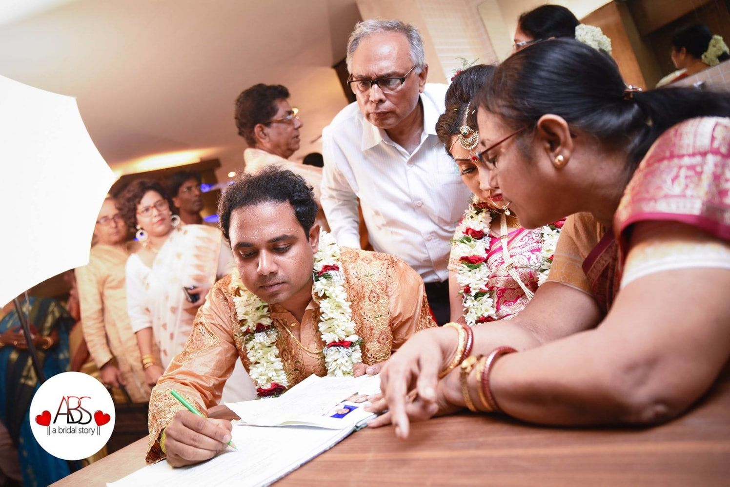 Signing the oneness by A Bridal Story Wedding-photography | Weddings Photos & Ideas