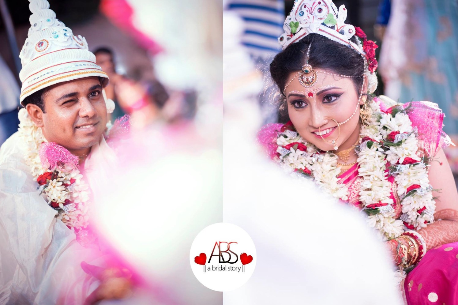 Kittenish pair by A Bridal Story Wedding-photography | Weddings Photos & Ideas