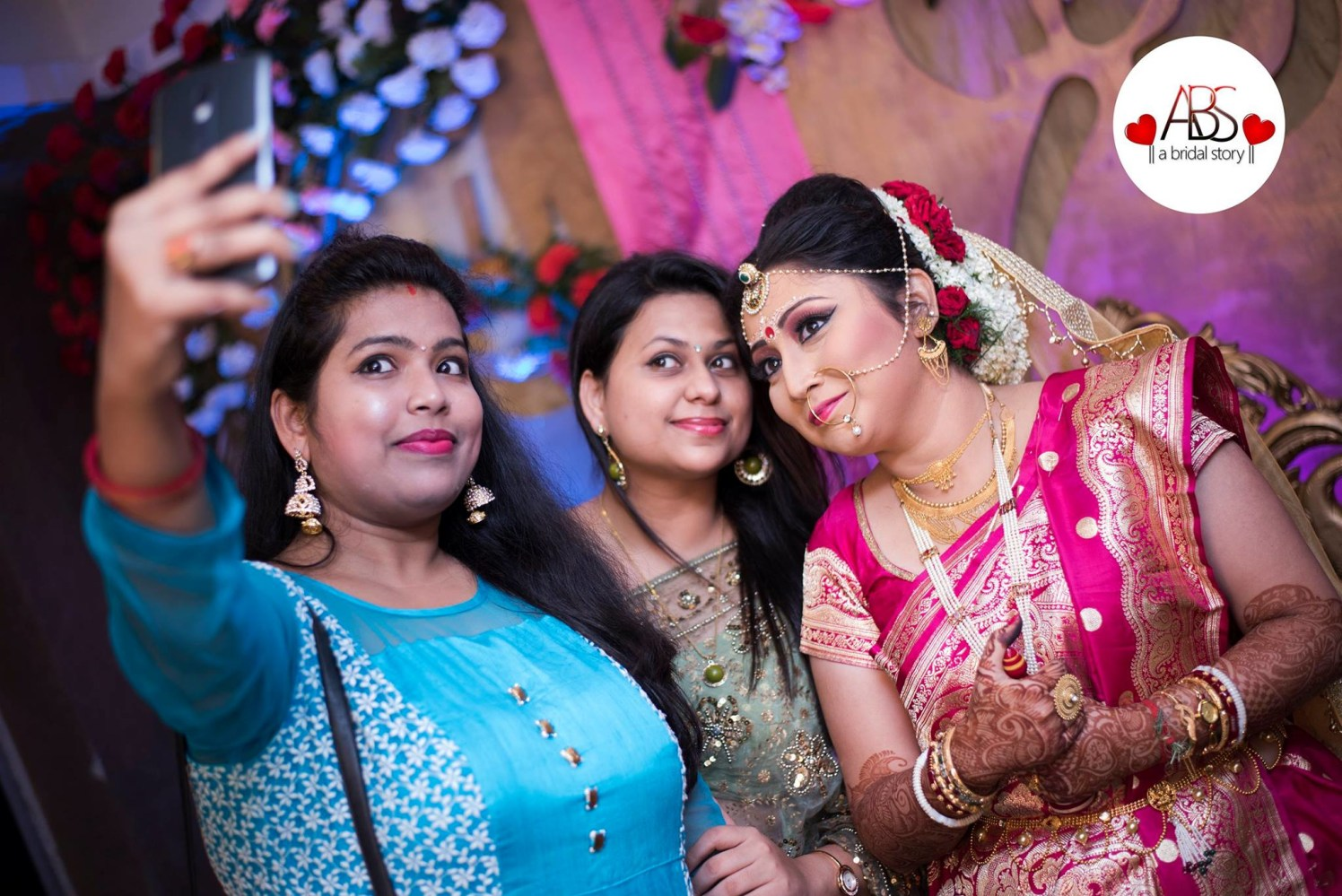Captivating the bengali aura by A Bridal Story Wedding-photography | Weddings Photos & Ideas