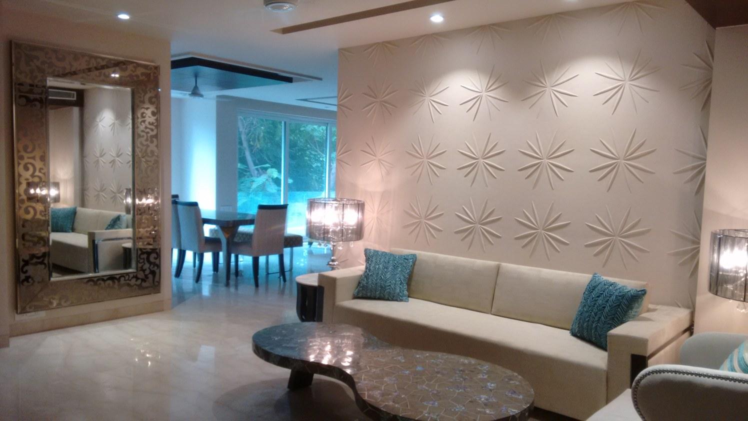 The Summer House by Rupali Kumar Living-room Contemporary | Interior Design Photos & Ideas
