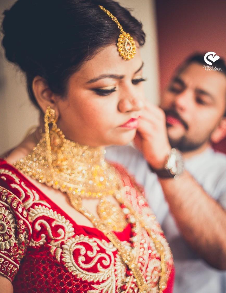 Decked up shining bride by Sona Sachdeva Photography Wedding-photography | Weddings Photos & Ideas
