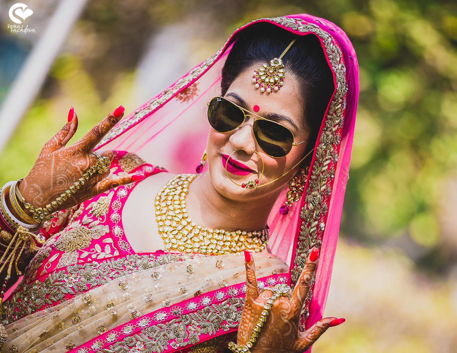Voguish glittering princess by Sona Sachdeva Photography Wedding-photography | Weddings Photos & Ideas