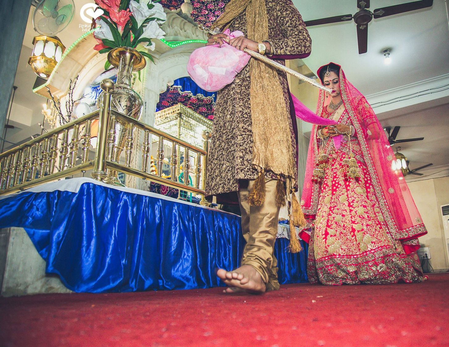Stepping towards forever association by Sona Sachdeva Photography Wedding-photography | Weddings Photos & Ideas