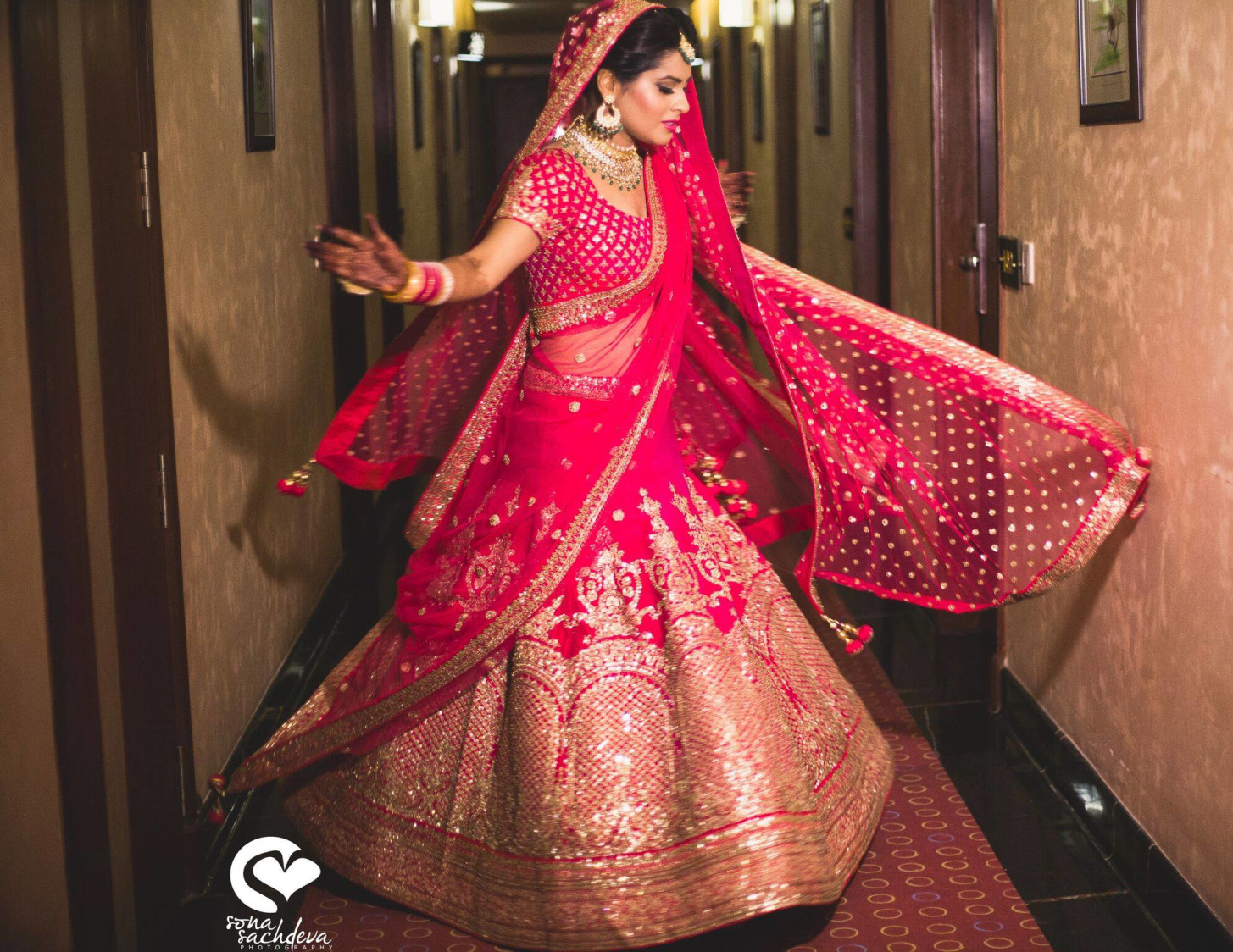 Mandatory twirling shot by Sona Sachdeva Photography Wedding-photography | Weddings Photos & Ideas