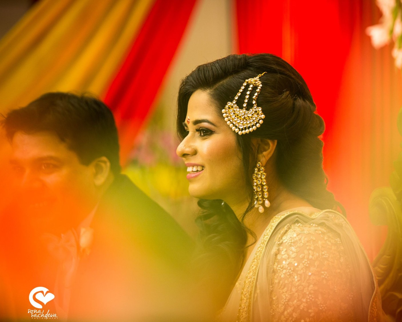 Studded with gleaming embellishments by Sona Sachdeva Photography Wedding-photography | Weddings Photos & Ideas