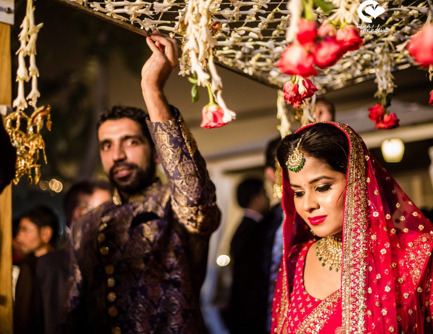Enticing ingress by Sona Sachdeva Photography Wedding-photography | Weddings Photos & Ideas