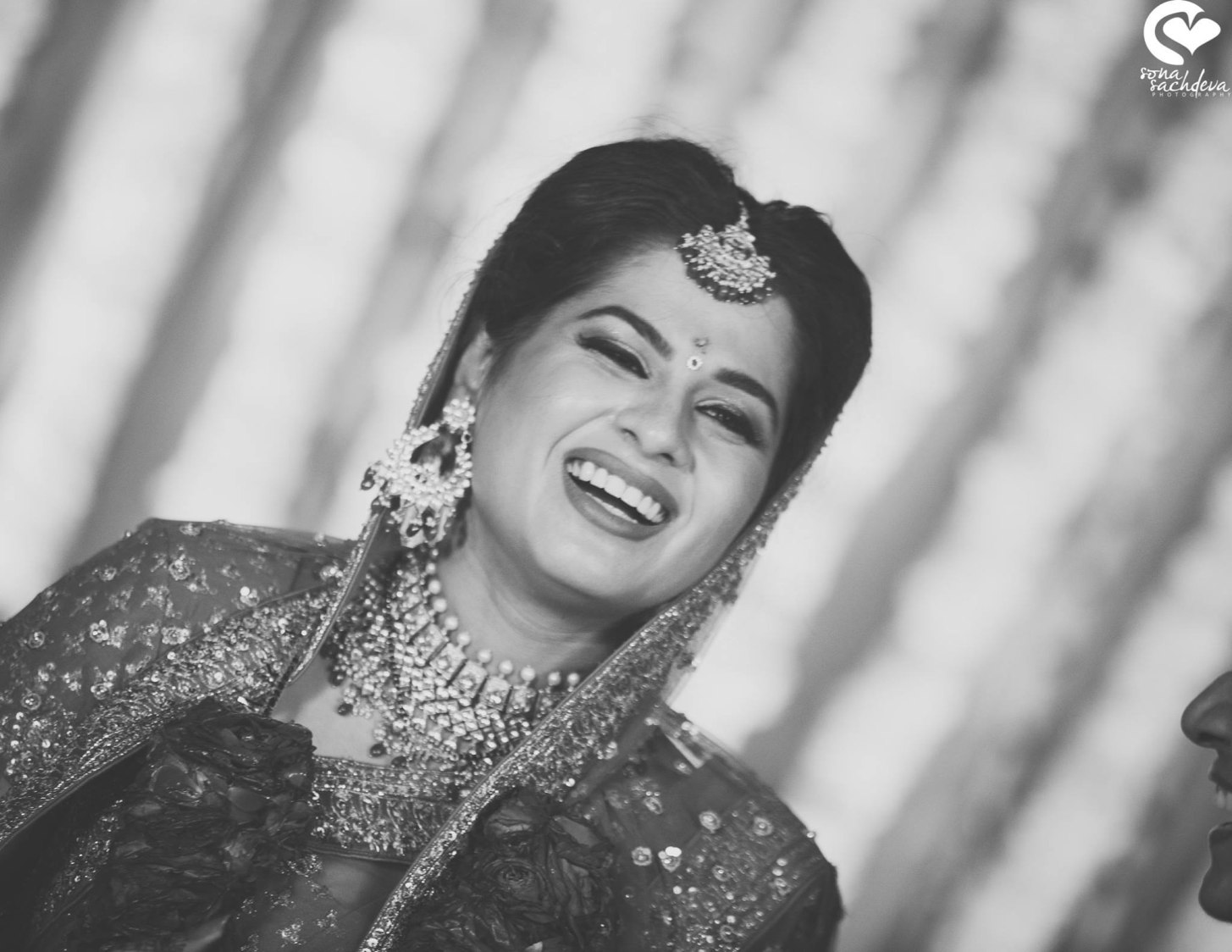 Contented bride by Sona Sachdeva Photography Wedding-photography | Weddings Photos & Ideas