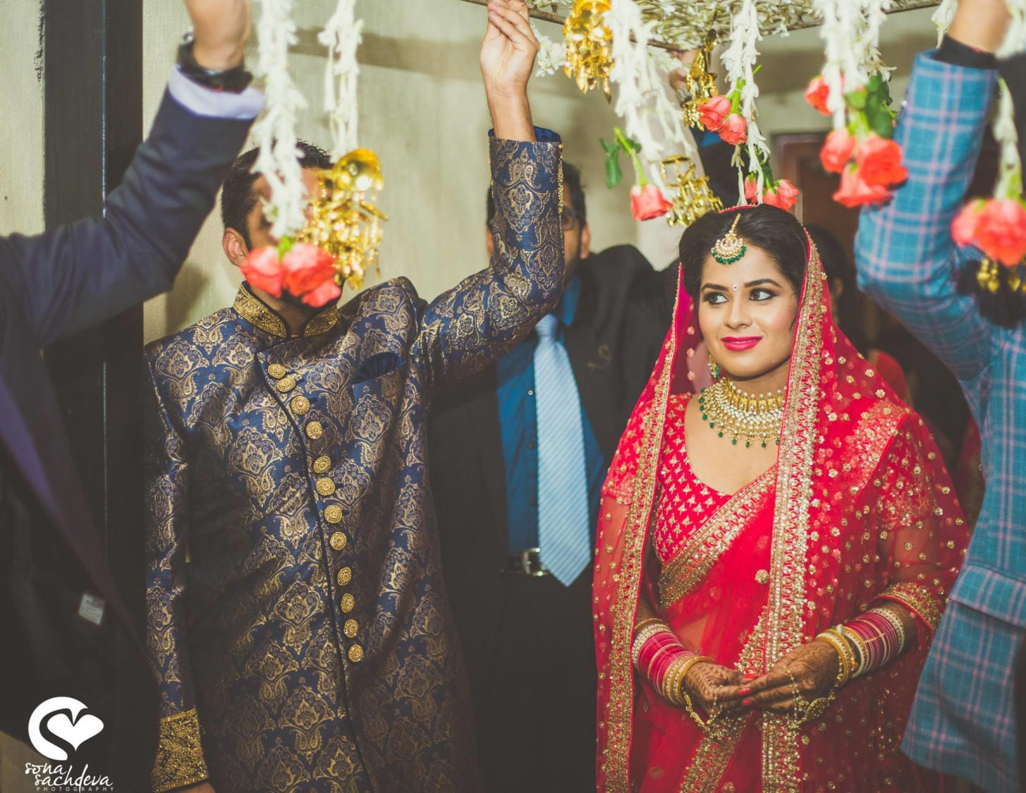 Incoming of the beauteous princess by Sona Sachdeva Photography Wedding-photography | Weddings Photos & Ideas