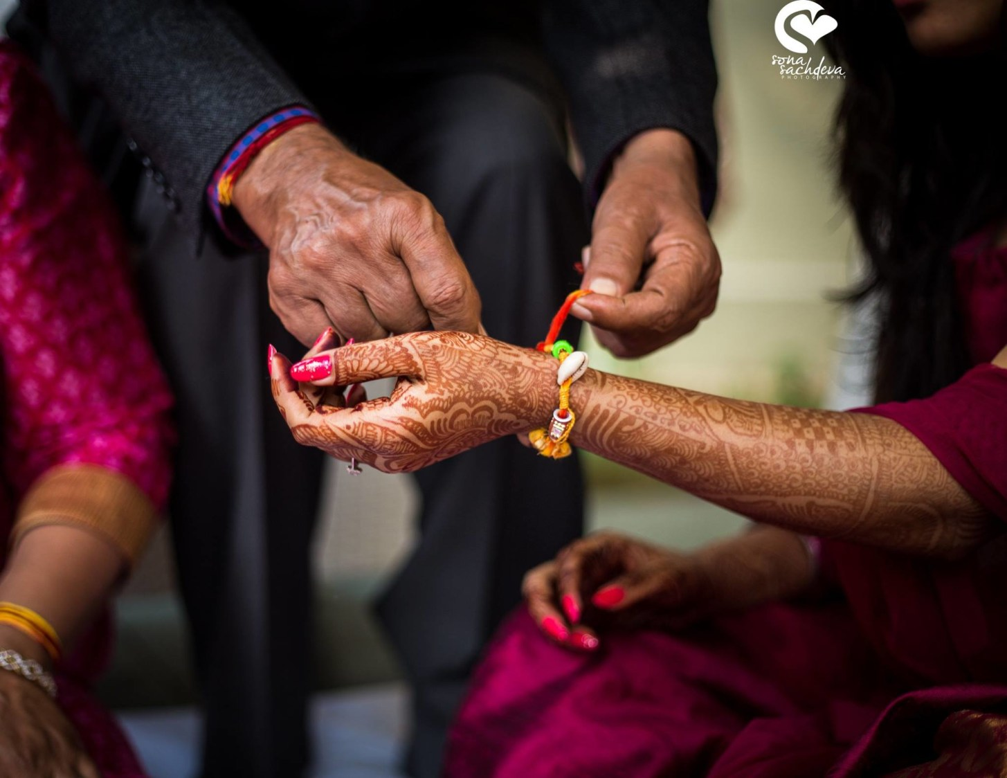 Holy thread of boon by Sona Sachdeva Photography
