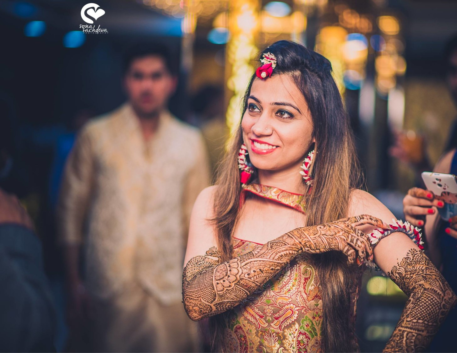Prepossessing bride to be by Sona Sachdeva Photography Wedding-photography | Weddings Photos & Ideas