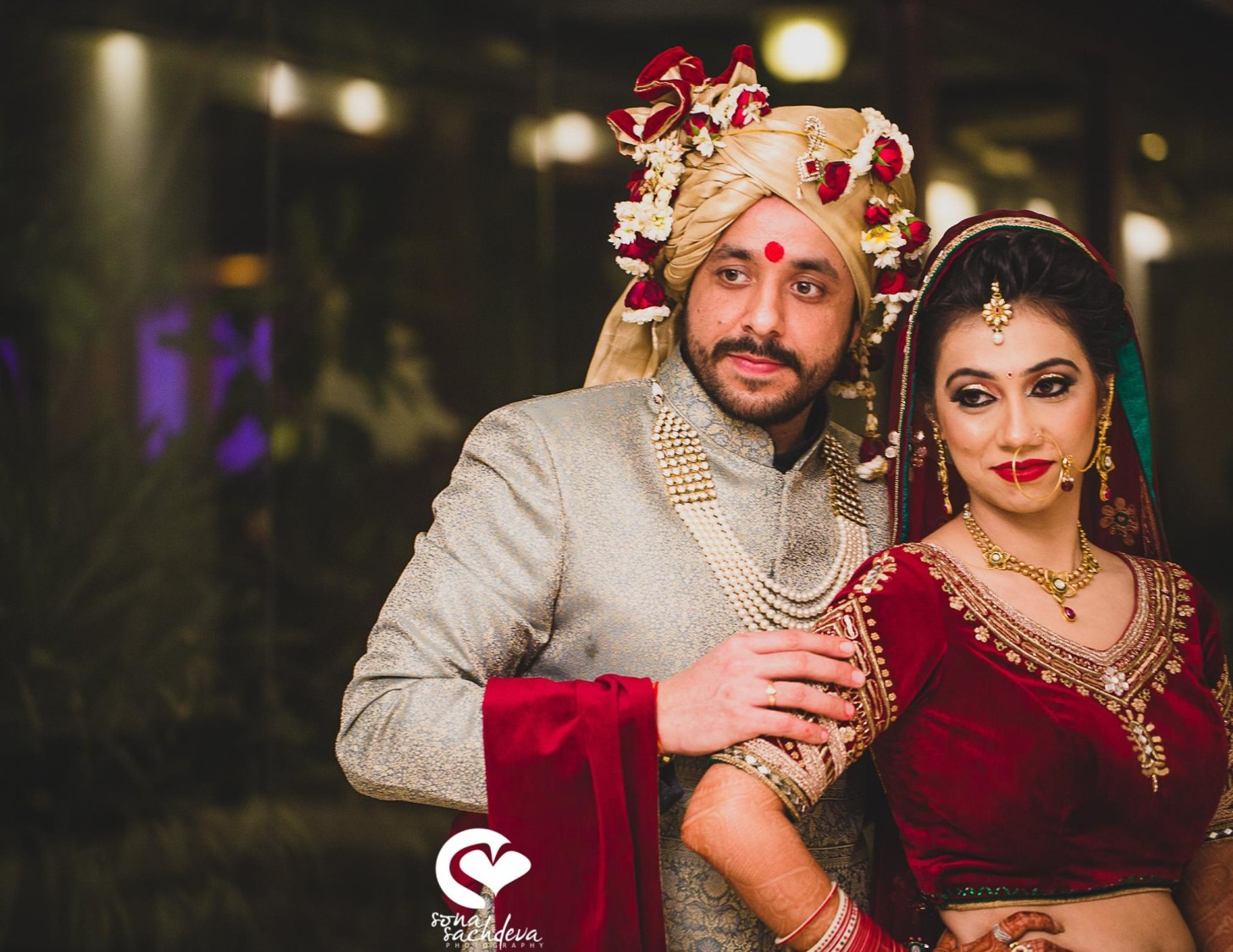 Impeccable shining duo by Sona Sachdeva Photography Wedding-photography | Weddings Photos & Ideas