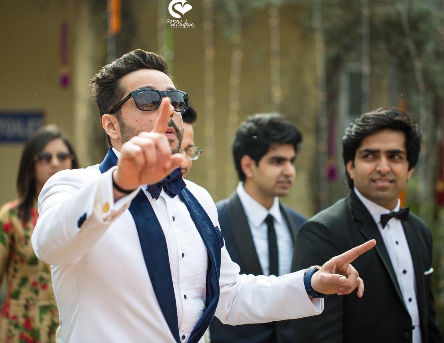 Stylish groom by Sona Sachdeva Photography Wedding-photography | Weddings Photos & Ideas