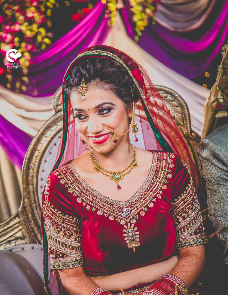 Gorgeous glittering bride by Sona Sachdeva Photography Wedding-photography | Weddings Photos & Ideas