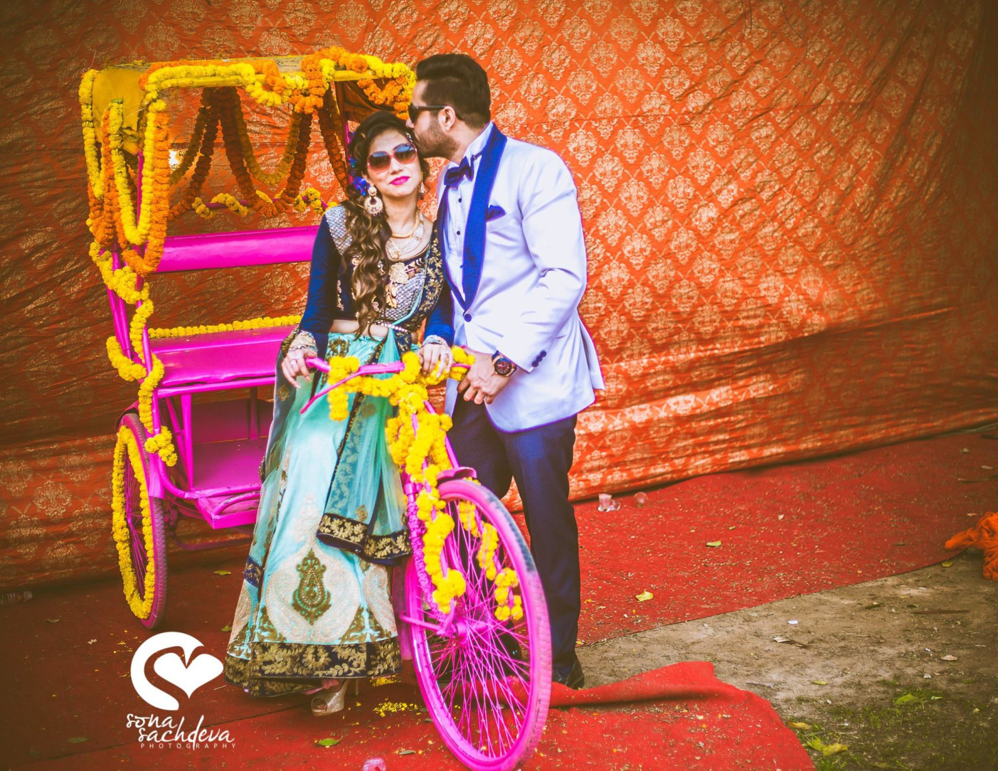 Radiant quirky duo by Sona Sachdeva Photography Wedding-photography | Weddings Photos & Ideas