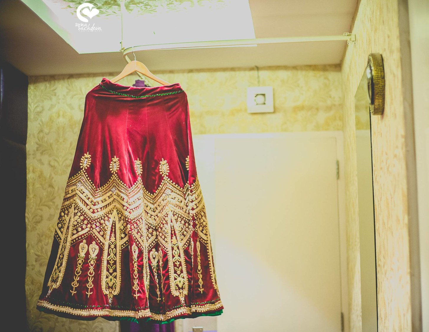 Fascinating mulberry attire by Sona Sachdeva Photography Wedding-photography | Weddings Photos & Ideas