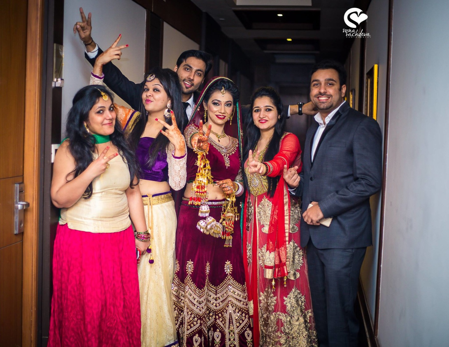 Brightly happy by Sona Sachdeva Photography Wedding-photography | Weddings Photos & Ideas