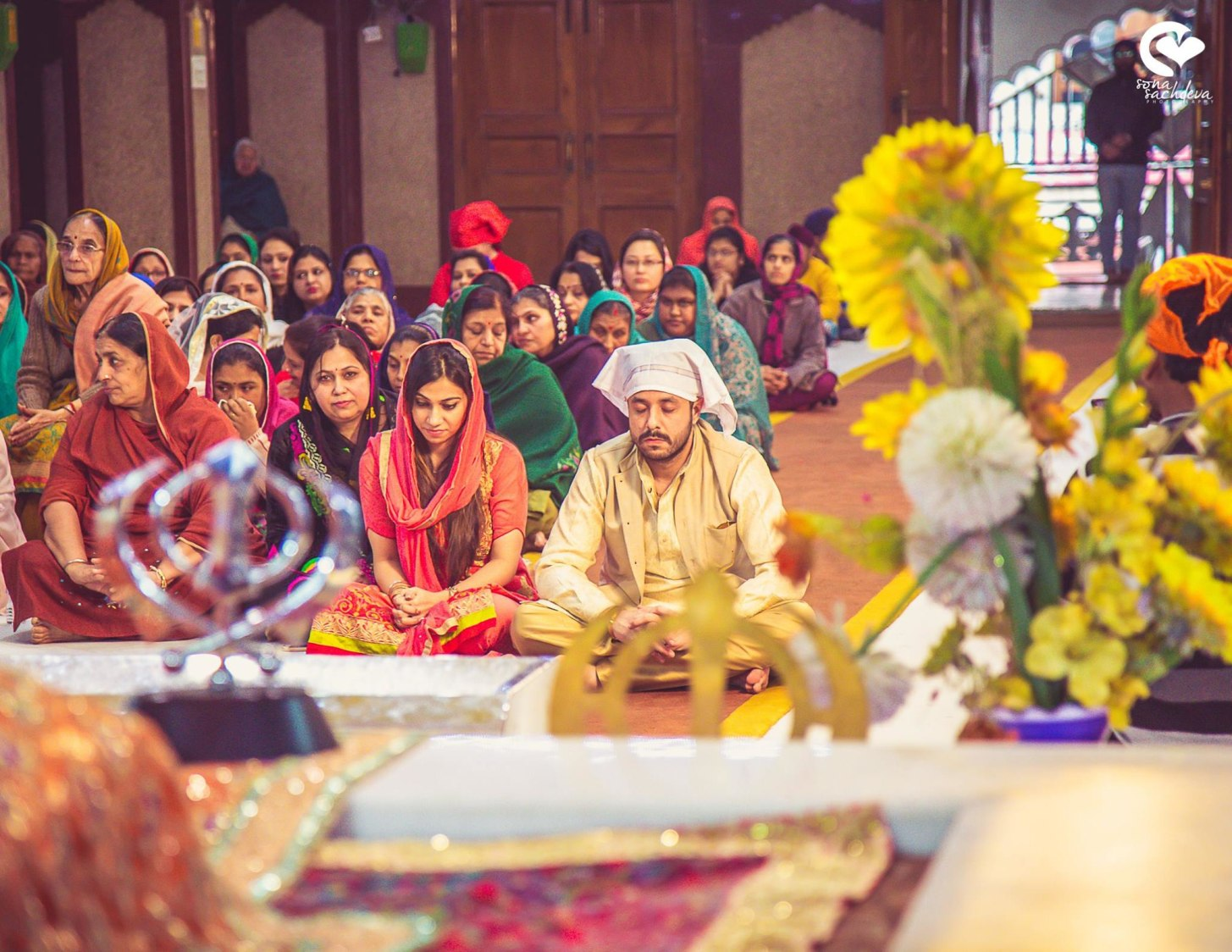 Blessed and serene by Sona Sachdeva Photography Wedding-photography | Weddings Photos & Ideas