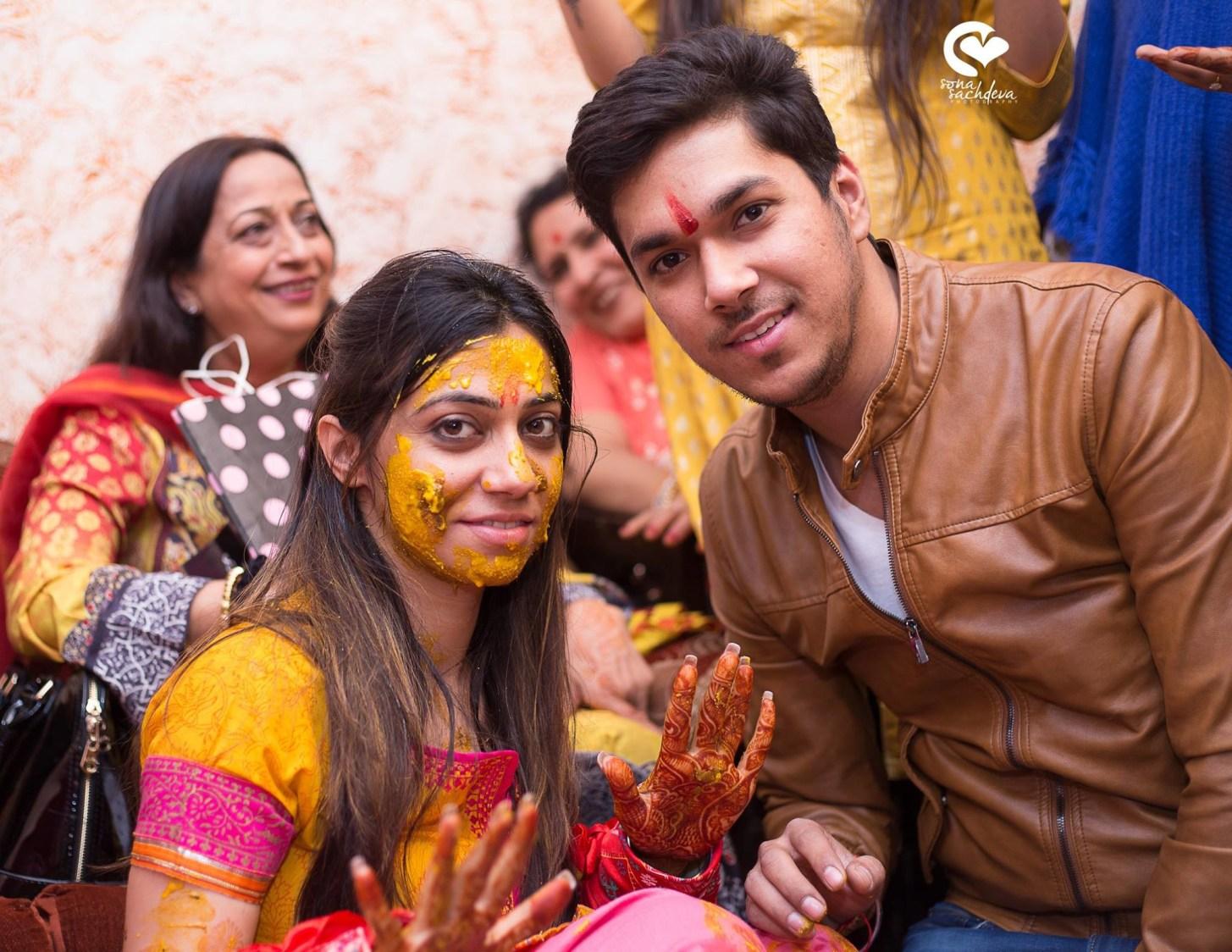 Haldi ceremony by Sona Sachdeva Photography Wedding-photography | Weddings Photos & Ideas