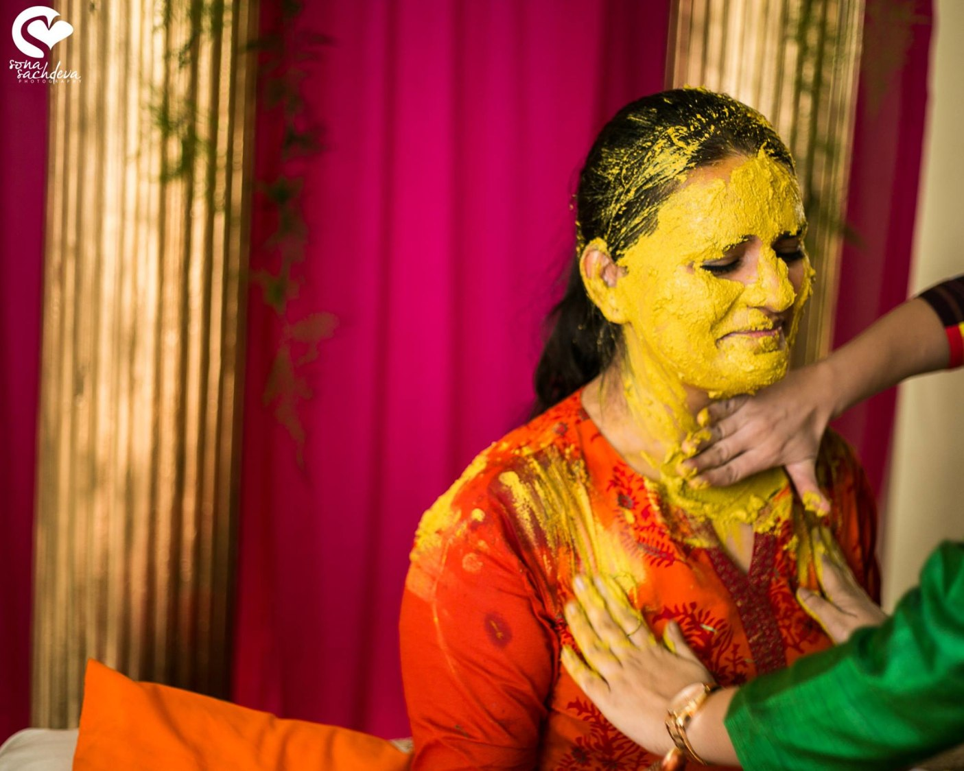 Painted with the colour of love by Sona Sachdeva Photography Wedding-photography | Weddings Photos & Ideas