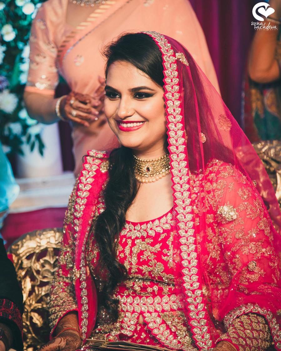 Ravishing beauty in pink by Sona Sachdeva Photography Wedding-photography | Weddings Photos & Ideas