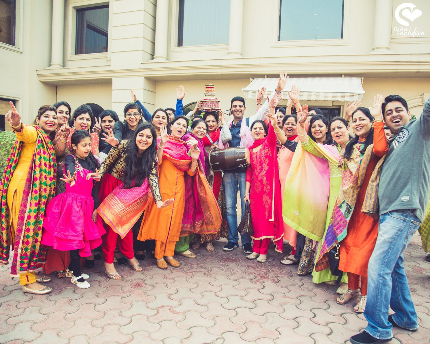 Beatific squadron by Sona Sachdeva Photography Wedding-photography | Weddings Photos & Ideas