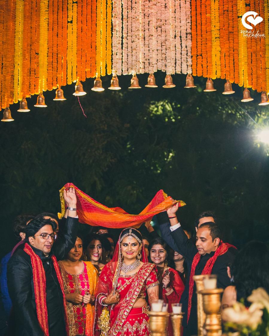 Glorious incoming by Sona Sachdeva Photography Wedding-photography   Weddings Photos & Ideas