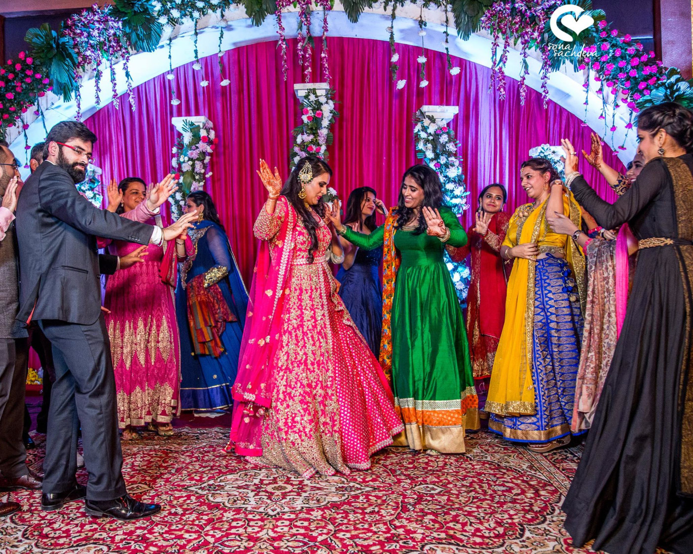 Twirling on wedding beats by Sona Sachdeva Photography Wedding-photography | Weddings Photos & Ideas
