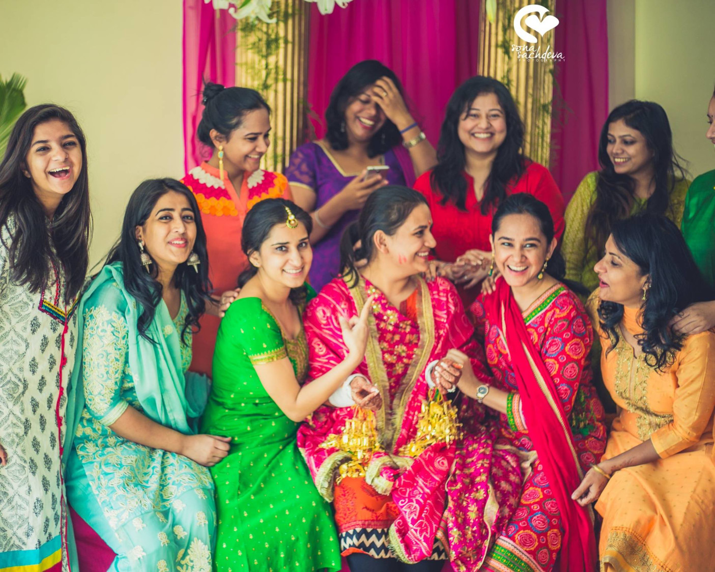 Fusion of colours and happiness by Sona Sachdeva Photography Wedding-photography | Weddings Photos & Ideas