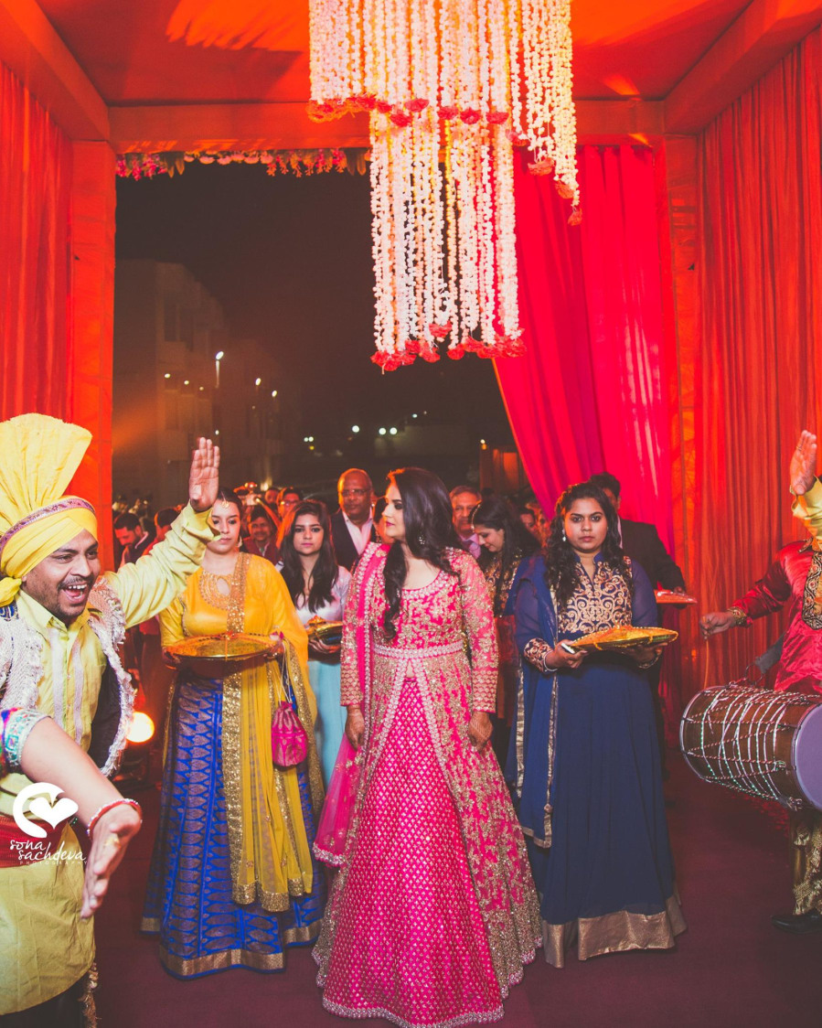 Gorgeous incoming by Sona Sachdeva Photography Wedding-photography | Weddings Photos & Ideas