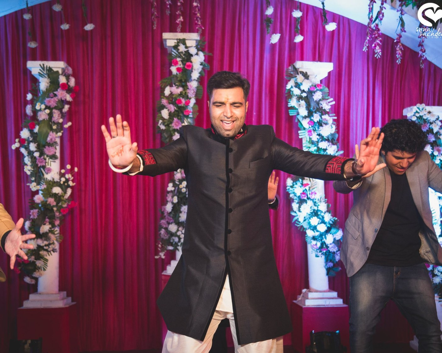 Exhilarated groom by Sona Sachdeva Photography Wedding-photography | Weddings Photos & Ideas