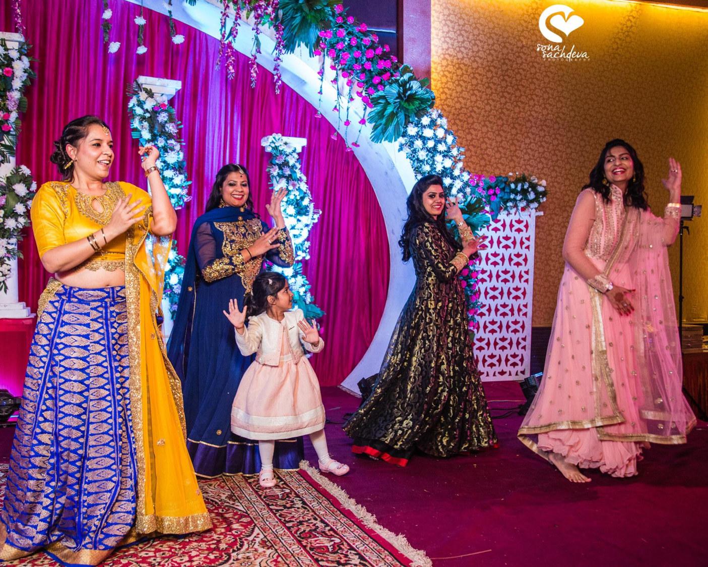 Dancing divas by Sona Sachdeva Photography Wedding-photography | Weddings Photos & Ideas