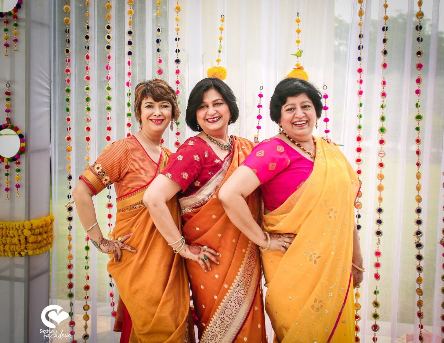 The awesome trio by Sona Sachdeva Photography Wedding-photography | Weddings Photos & Ideas